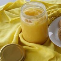Κρέμα Λεμονιού (Lemon Curd) και Ζαχαρωμένες Φλούδες Λεμονιού