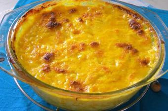Ρυζόγαλο με κρόκο Κοζάνης εικόνα