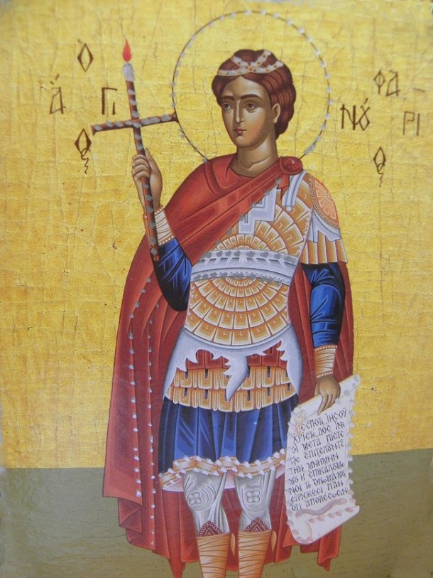 Ο Άγιος Φανούριος εικόνα