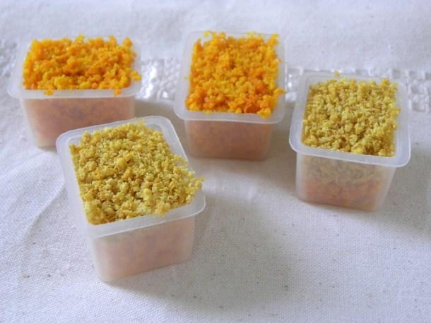 Ξύσμα από πορτοκάλι και λεμόνι εικόνα