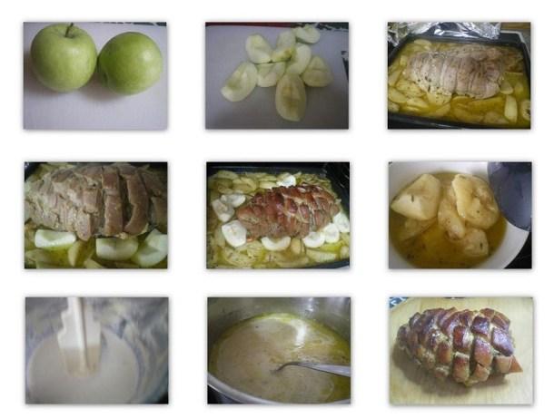 Στάδιο 4, ψήσιμο και σάλτσα εικόνα