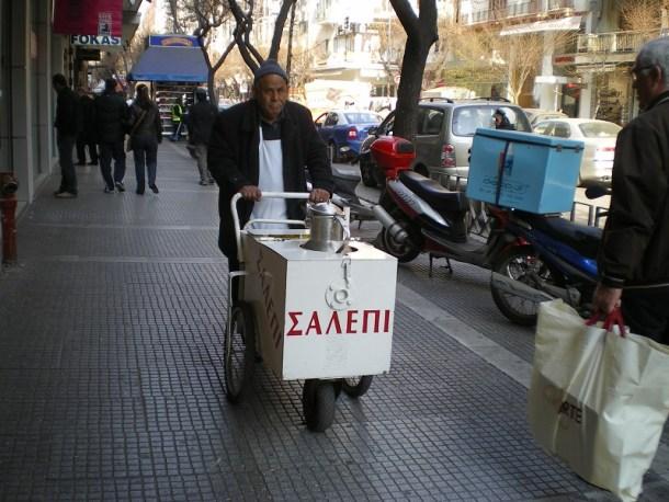 Πωλητής σαλέπι εικόνα