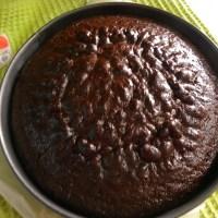 Κέικ Μαγιονέζας με Σοκολάτα και Γλάσο Καπουτσίνο