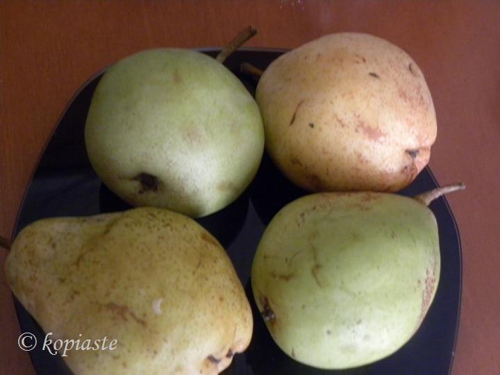αχλάδια βουτύρου και χάιλαντ