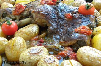 Μπογάνα με Πατάτες εικόνα