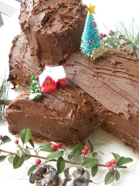 Σοκολατένιος Κορμός Χριστουγέννων εικόνα