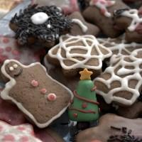 Μπισκότα Τζίντζερμπρεντ (Gingerbread) με Χαρουπόμελο