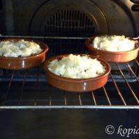 Μελιτζάνες Σαγανάκι στο Φούρνο