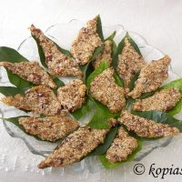 Παστέλλι με Σουσάμι και Φυστίκια
