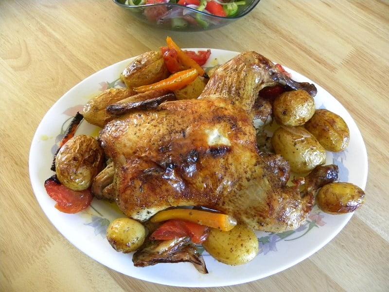 Kotopoulo Psito sto fourno (Chicken Roast)