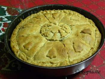 Kreatopita Meat Pie
