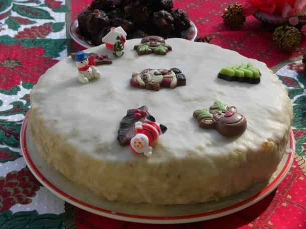 Christmas cake image