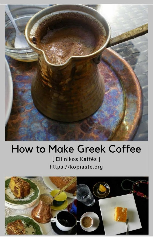 Collage Greek Coffee image