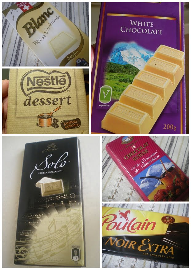 Collage chocolates images