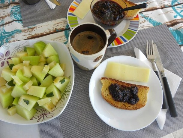Greek breakfast with Mulberry Jam image