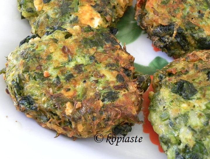 Kolokythokeftedes (zucchini patties) image