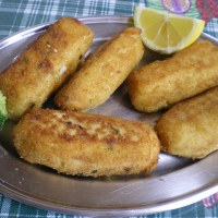Potato Croquettes with minced meat