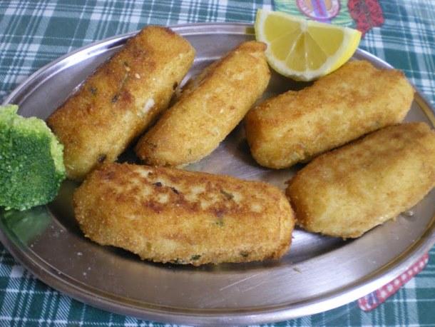Meat potato croquettes image
