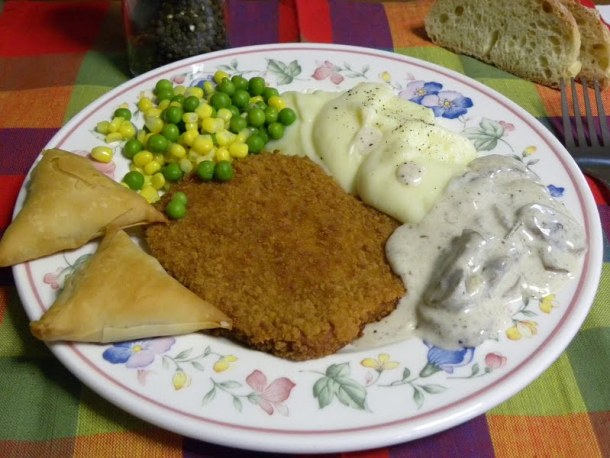 Schnitzel plate image