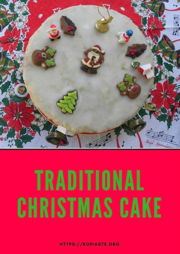 Traditional Christmas Cake image
