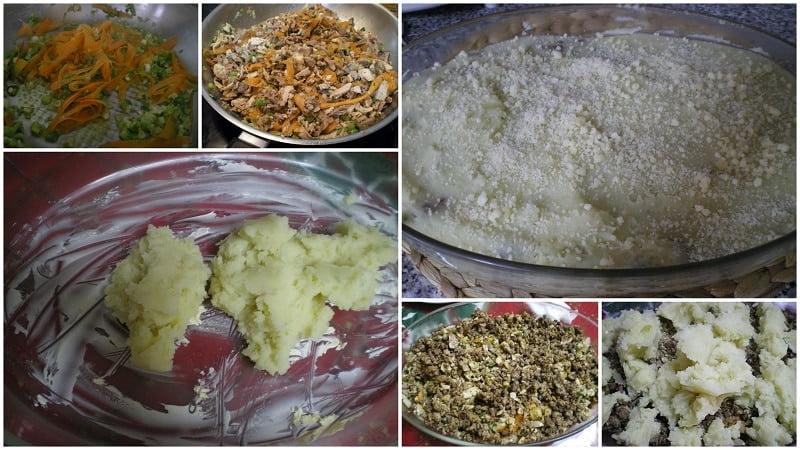 collage-preparing-leftover-turkey