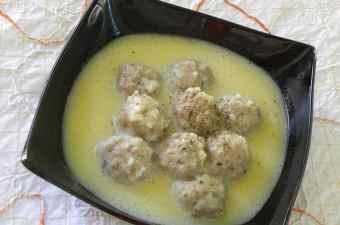 Giouvarlakia Avgolemono soup image