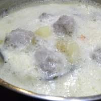 Mirepoix Giouvarlakia Avgolemono Soup