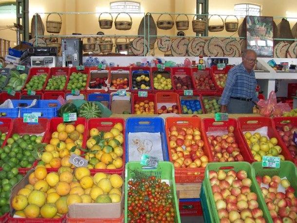 Inside the old market Limassol image