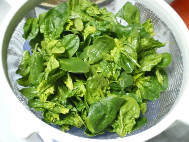baby spinach image