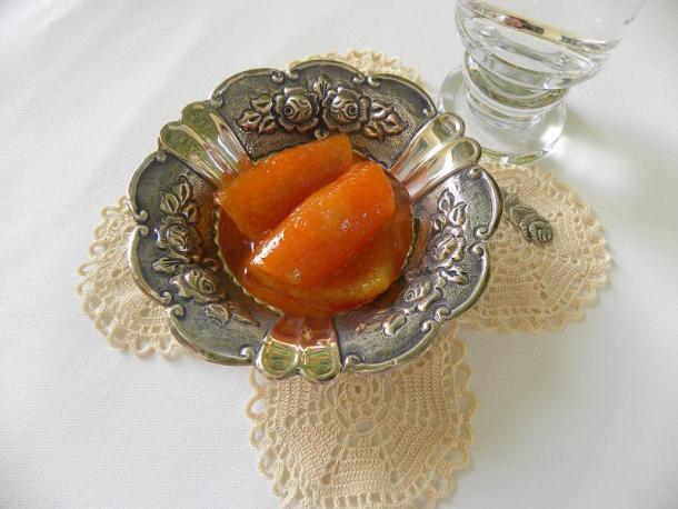 Orange spoon sweet image