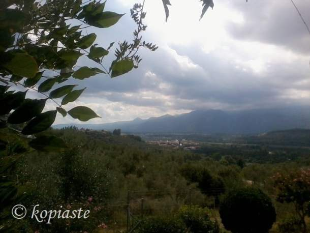 view of Taygettus