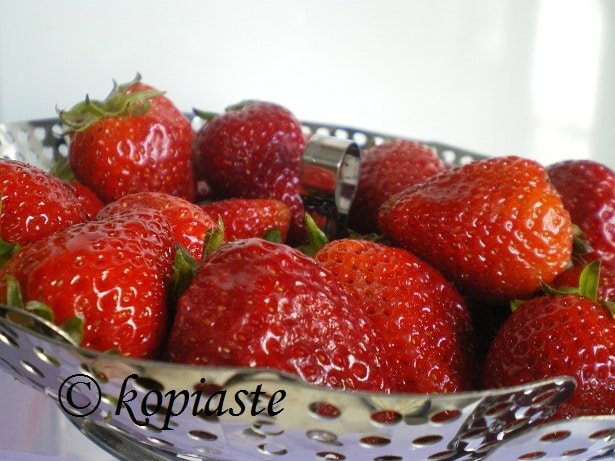Strawberries fraoules