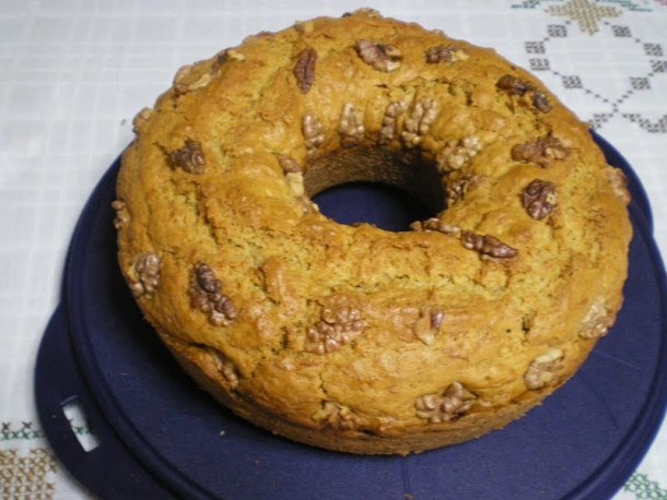 Carrot cake with walnuts image