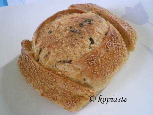 Flaounes (Cypriot Easter Cheese filled Bread)
