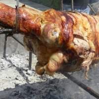 Ovelias – Easter Whole Lamb Roasted on the spit or Souvla