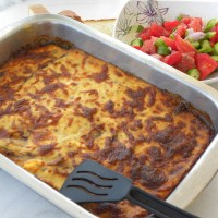 Pastitsio (Greek Pasta Casserole)