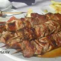 Lamb or Pork Souvlaki