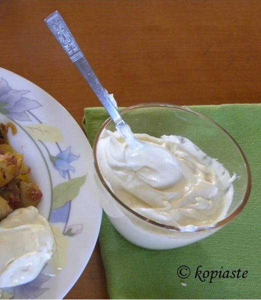 Yoghurt mustard Sauce