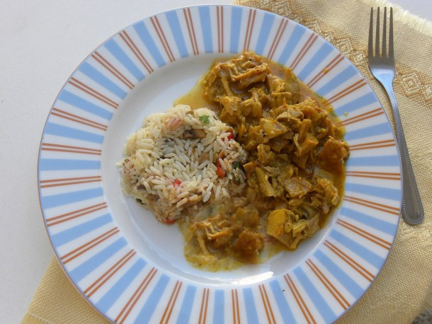 Rice pilaf with curry image