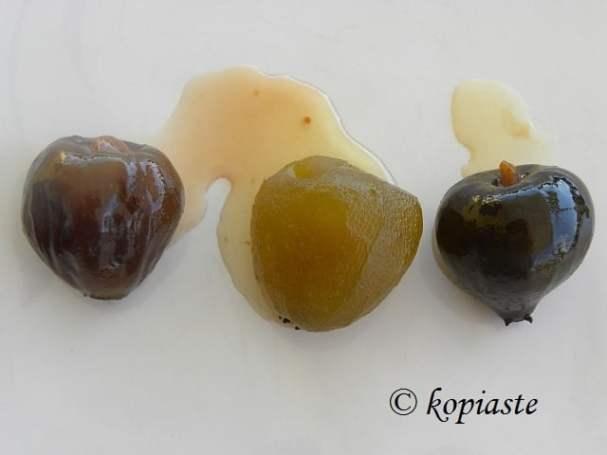 Fig preserves 3 kinds