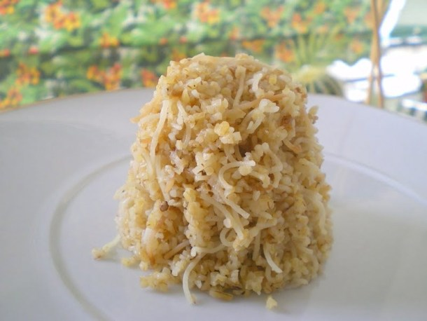 Pilaf pourgouri photo