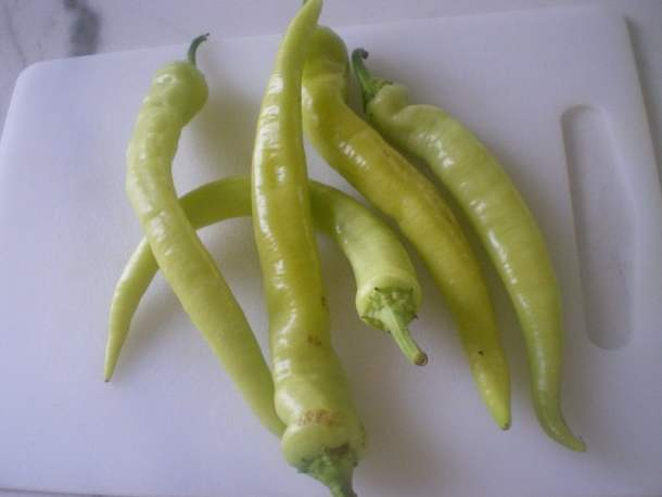 Hot peppers image