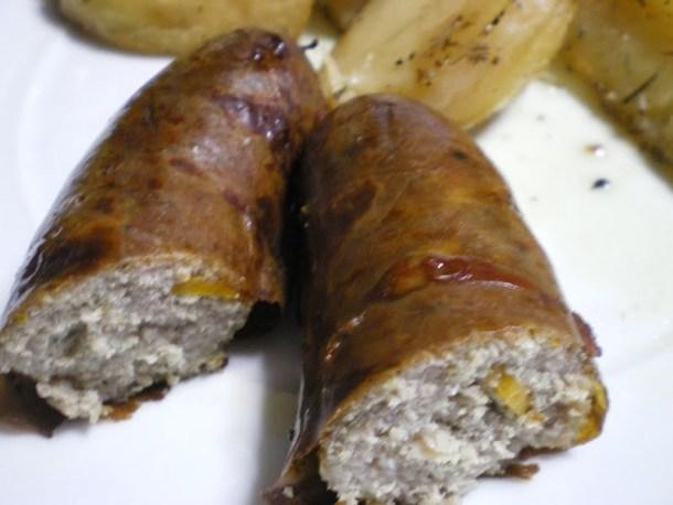 baked spartan sausage image