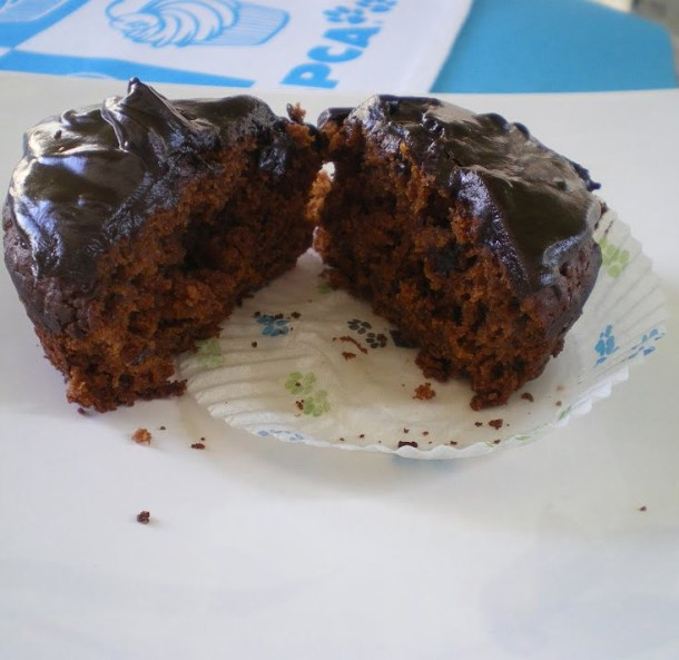 Chocolate Cupcake cut image