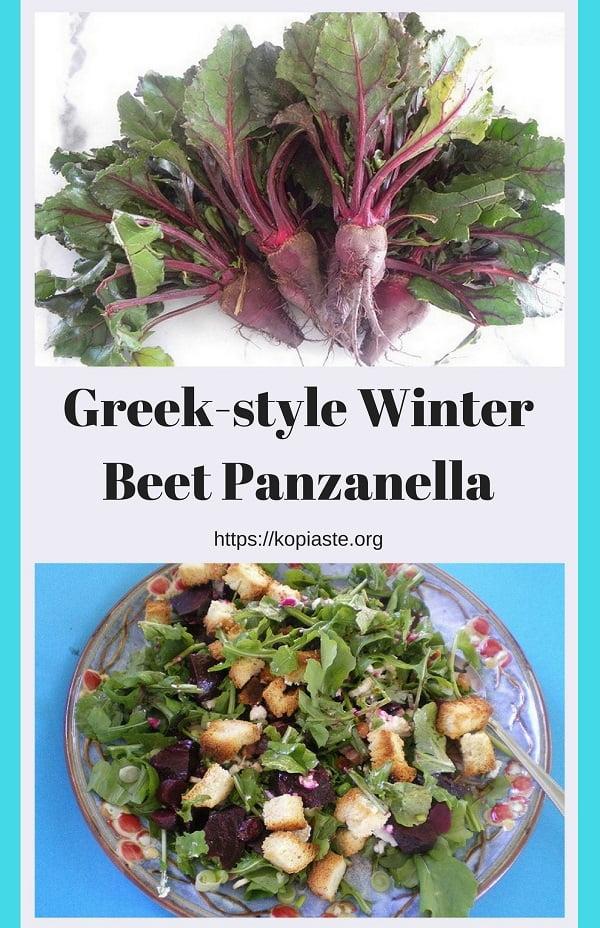 Greek-style2 Winter Beet Panzanella
