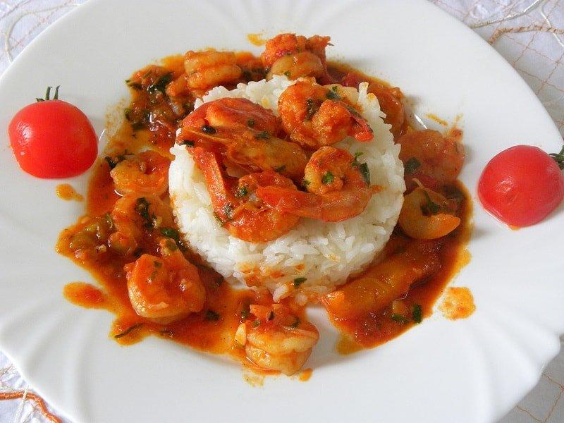 Garides Saganaki Me Masticha Shrimp Saganaki Kopiaste