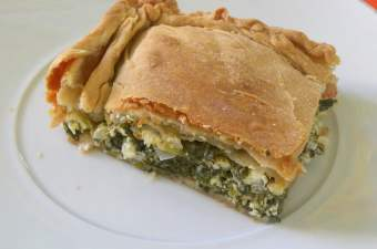Spanakopita from scratch