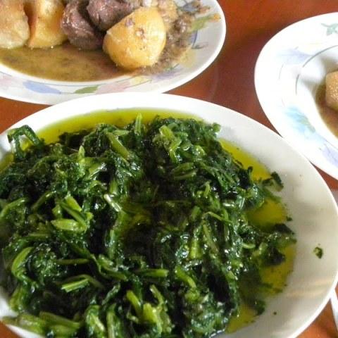 Horta (Boiled Leafy Greens)