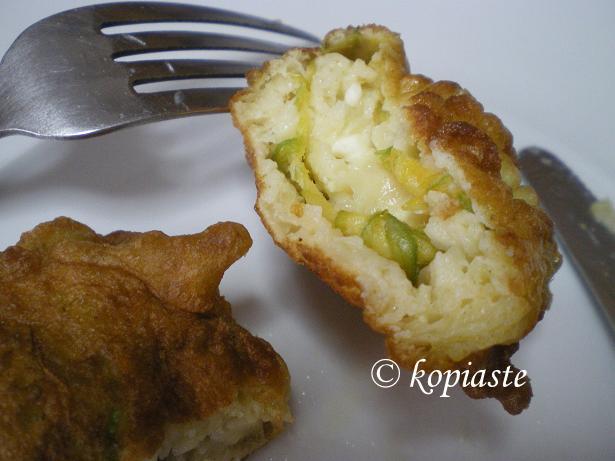courgettes Zucchini patties