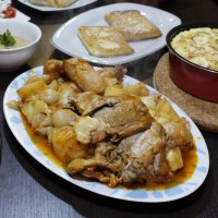 Kokoras Bardouniotikos (Stewed Rooster with feta)